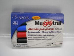 I-AZ177-101-XXTX MAGISTRAL ESTUCHE 4 MARCADORES 83474