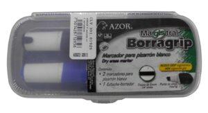 I-AZ194-120-XXTX BORRAGRIP ESTUCHE C-2 MARCADORES PARA PIZARRA