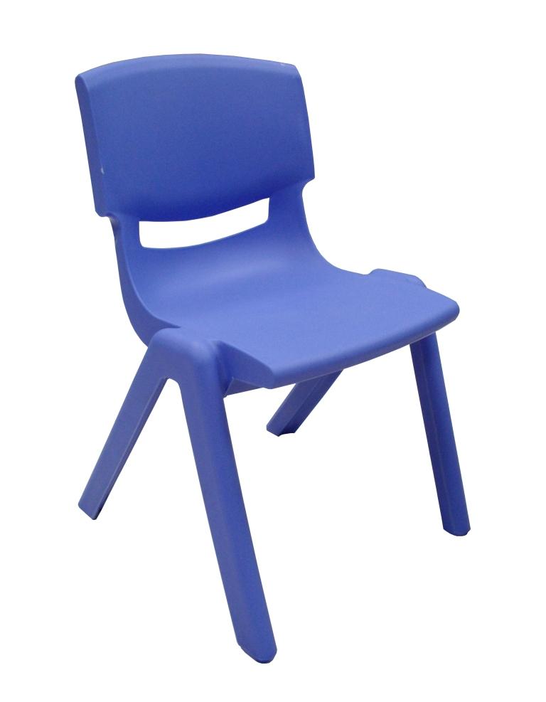 I-FF175-020-PXTP SILLA KINDER PVC  YU-YCX-001-BLUE 30 CMS ALTURA ASIENTO