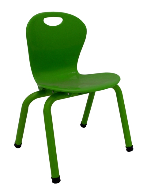I-FF175-081-PXTP SILLA KINDER PVC  YU-YCX-010-GREEN