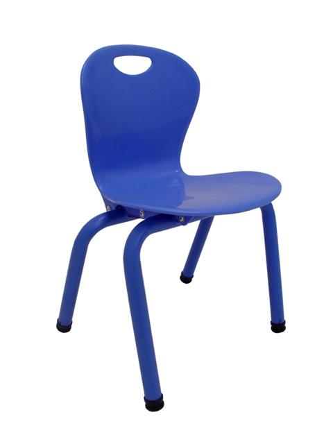 I-FF175-083-PXTP SILLA KINDER PVC  YU-YCX-010-BLUE