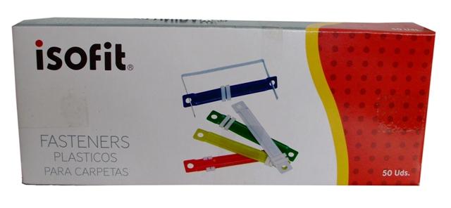 I-LB194-050-0300 CAJA FASTENER ISOFIT PLASTICO 50 UNIDADES 13513-5