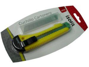I-LB194-070-0500 BLISTER CUCHILLO CARTONERO ISOFIT 80 + REPUESTO 27250-7