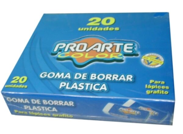 I-LB194-140-0100 GOMA DE BORRAR PLASTICA PORARTE 526-5 13017-6 UNIDAD