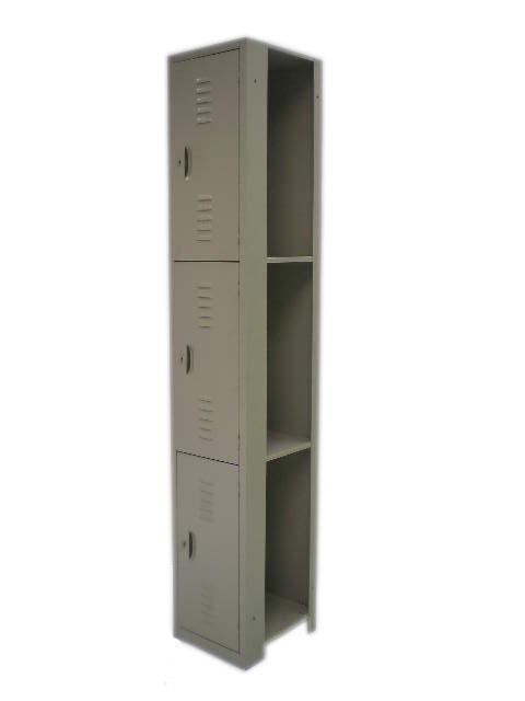 N-AM122-007 LOCKER INTER. 3 PUER. MAR 185 CMS ALTURA
