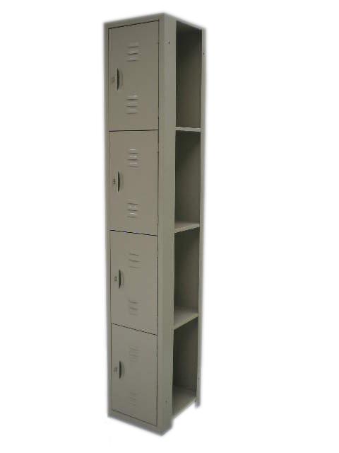 N-AM122-008 LOCKER INTER. 4 PUER. MAR 185 CMS ALTURA