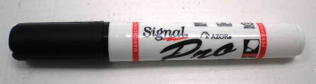 I-AZ195-042-XXTX MARCADOR SIGNAL PRO PERMANENTE NEGRO 42001