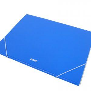 I-LB196-210-0400 CARPETA PLASTICA ISOFIT CARTA C-ELASTICO AZUL 28653-2