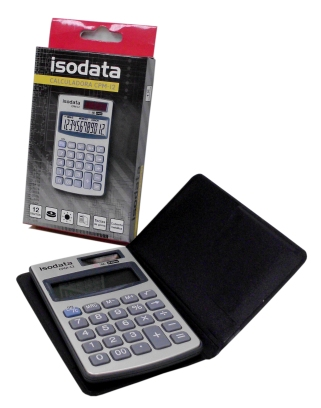 I-LB197-250-0100 CALCULADORA POCKET 12 DIGITOS CPM-12  10.2 X 6.1 CNS 29371-7