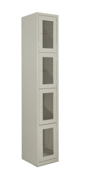 N-AM122-103 LOCKER INICIO MALLA 4 PUER.  MAR 185 CMS ALTURA